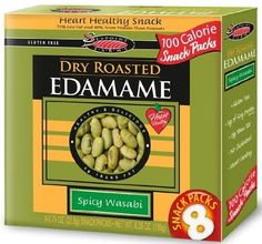 Seapoint Farms Spicy Wasabi Dry Roasted Edamame, Ounce - 8 per pack -- 12 packs per case. -- Continue with the details at the image link. Heart Healthy Snacks, Dry Snacks, Healthy Drinks, Protein Mix, Soy Protein, Protein Snacks, Gourmet Gifts, Gourmet Recipes, Cooking Recipes