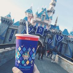 Pin for Later: The Food at Disneyland's 60th Anniversary Celebration Will Give You Serious FOMO Every Detail Is Worked Out — Even the Cups!