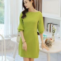 New Style Summer Dress Women Casual Dress Lantern Sleeve Party Dresses Boho Ukraine Office Dress