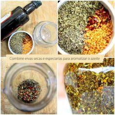 tempero caseiro Cooking Tips, Cooking Recipes, Veggie Recipes Healthy, Mason Jar Storage, Dehydrator Recipes, Diy Food, How To Dry Basil, Carne, Good Food