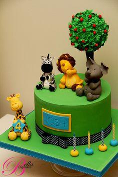 Safari Party Cake