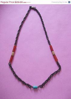 ON SALE Unusual Signed Hattie Carnegie Necklace M1034 by MICSJWL, $12.00