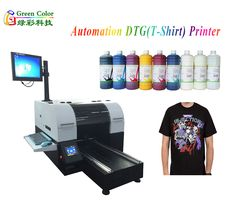 1.Personalized printing,any design as you want to print, no quantity require; 2.High quality textile pigment ink for direct to garment printing; 3.vivid color without clogging; 4.Strong washed by machine or hand, wearing resistance and good color fastness; 5.100% safe for touch skin, no smell,environmental; 6.easy operation, save your time and cost.