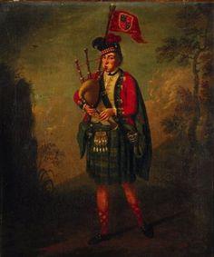 Alan McDonald, piper to the Archibald Montgomerie, Duke of Eglinton