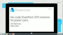 No-code SharePoint 2013 Solutions for power users | web development : SharePoint | ram2013