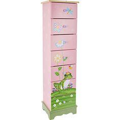 Pink Storage Drawers Chest