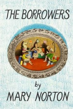 #illustration I'm reading The Borrowers, by Mary Norton now. I keep thinking how fun it would be to illustrate it!