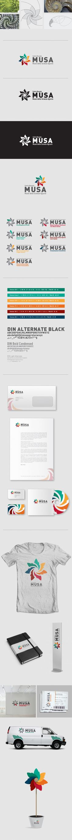 Logo Musa by Matteo Brogi, via Behance