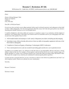 rad tech cover letter and resume examples - Sample Resume For Radiologic Technologist