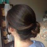 wedding updo, big curls, traditional hair, bridal hair, side updo