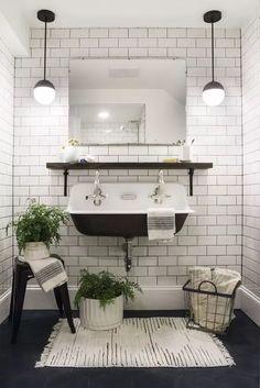 I appreciate this unique thing rustic master bathroom, simple bathroom, vintage bathroom Rustic Master Bathroom, Vintage Bathroom Decor, Modern Farmhouse Bathroom, Simple Bathroom, Bathroom Interior, Bathroom Ideas, Bathroom Rugs, Bathroom Designs, Bathroom Small