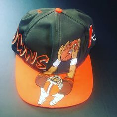 Drew Pearson Vintage 3D Wide Receiver Cleveland Browns Drew Pearson Snapback  Hat Size one size - 2830c740e055