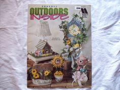 Crochet Pattern Book Outdoors Inside Annie's by CozyHomeCrochet