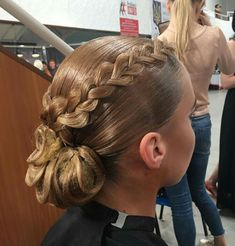 trendy ideas for ballroom dancing hairstyles kids Dance Hairstyles, Sleek Hairstyles, Braided Hairstyles, Updo Hairstyle, Dance Competition Hair, Ballroom Dance Hair, Finger Wave Hair, Finger Waves, Girls Braids