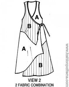 Fashion patterns by Conie V5107 - Fun Jumper