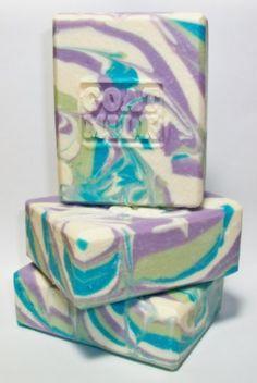 Goat Milk Soap Celestial Sea by MountainScentament on Etsy, $5.00