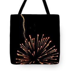 New Art New Photos Best Photography Len Stanley Yesh Pittsburgh Photographer Canvas Prints Tote Bag featuring the photograph Kinetic Burst by Len-Stanley Yesh