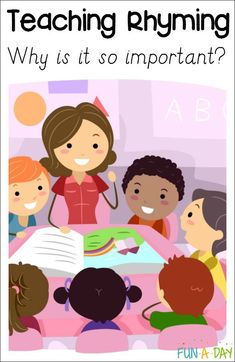 Why is teaching rhyming important in early childhood education?