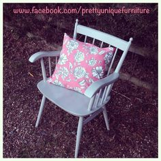 """""""#asap #anniesloan #chair #chalkpaint #etsy #forsale #handpainted #instahome #loveit #morethanpaint #paintedfurniture #parisgrey #retro #refurbished #shabby #shabbychic #upcycled #vintage"""" Photo taken by @prettyuniquefurniture on Instagram, pinned via the InstaPin iOS App! http://www.instapinapp.com (03/02/2015)"""