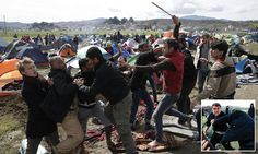 Startling images are emerging, portraying the reality of life in the migrant camps that have sprung up along the Macedonian border with Greece. Riot Police, Reality Of Life, Russia News, Medical Help, Slums, Camping, City, Skype, Control