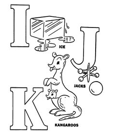 abc pre k coloring activity sheet alphabet letters i j k coloring letters abc coloring