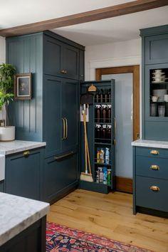 Home Renovation, Architecture Renovation, Apartment Therapy, Small Space Kitchen, Small Spaces, Small Dining, Fixer Upper, Kitchen Interior, Kitchen Decor