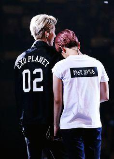EXO   BAEK HYUN and SEHUN