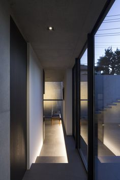 APOLLO Architects & Associates designed a home for an art collector, who wanted a space with museum-like qualities.