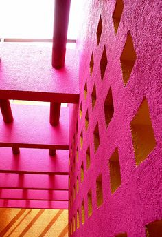 Pink Wall #patternpod #beautifulcolor #inspiredbycolor
