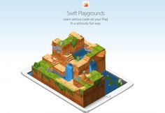 Apple has officially rolled out Swift Playgrounds, an iPad app designed to help kids learn to code in the company's Swift programming language for developing Mac and iOS apps. Teaching Kids To Code, Kids Learning, Ipad Mini 3, Learn To Code Apps, Swift Programming Language, Computer Programming, Learn Programming, Microsoft, Software Libre