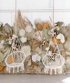 Macrame Hammock Chair Swings Our best selling macrame chair swings are back in stock! Here they are shining so bright at the tassels & tastemakers event in Los Angeles. How beautiful is this palm backdrop? Boho Wedding, Floral Wedding, Wedding Bouquets, Party Wedding, Outdoor Hammock Chair, Floral Backdrop, Dry Leaf, Best Wedding Venues, Swinging Chair