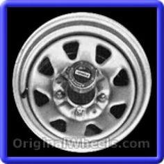 Ford Trucks 1987 Wheels & Rims Hollander #1571  #FordTrucks #Ford #Trucks #F100 #F150 #F250 #F350 #1987 #Wheels #Rims #Stock #Factory #Original #OEM #OE #Steel #Alloy #Used