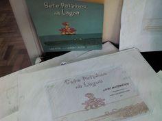 Livro Matemática inspirado na obra Sete Patinhos na Lagoa.Trabalho para Feira do Livro Escolar. > 2013