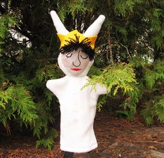 Where the Wild Things Are Max Hand Puppet by Meoneil on Etsy, $25.00