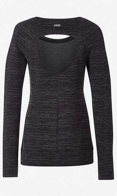 marl EXP core long sleeve back cutout tee Click to Buy! Just ordered this myself and it's adorable!
