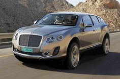 Bentley is working on a SUV to join its line-up of luxury saloons and sports coupes. The name of the SUV is not known yet but what we know is that the new SUV will get a petrol engine. Bentley Suv, New Bentley, Maserati, Bugatti, Lamborghini, Ferrari, Volkswagen, Audi, Porsche