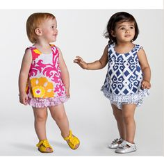 Baby girls' dresses from Masala Baby