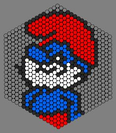 Kandi Patterns for Kandi Cuffs - Characters Pony Bead Patterns Melty Bead Patterns, Kandi Patterns, Hama Beads Patterns, Peyote Patterns, Beading Patterns, Perler Bead Designs, Fuse Beads, Pearler Beads, 8bit Art
