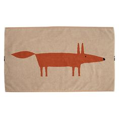Buy Scion Mr Fox Bath Mat Online at johnlewis.com