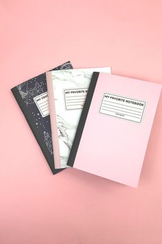 My Favourite Notebook Set