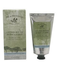 Take a look at this Dry Skin Shea Butter Foot Cream today!