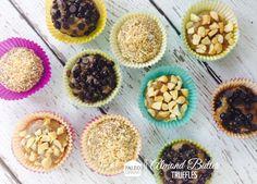 Paleo almond butter truffles #paleo #truffles #healthy