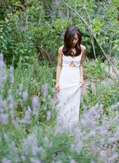 Effortless Outdoor San Jose Wedding | Simple Lavender Wedding Ideas