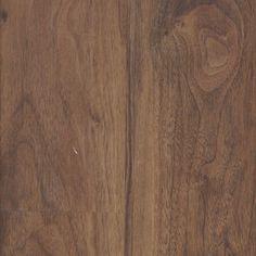 Uniclic by Mohawk Vinyl Plank Floors in Heathered Walnut