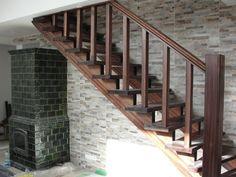 Znalezione obrazy dla zapytania balustrady schodowe drewniane