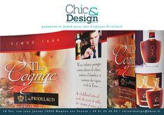 Création design Stand pour salon en Chine pour Cognac Priollaud