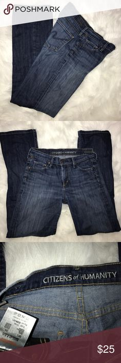 COH by Jerome Dahan boot cut jeans sz27 Sz27 length 29 prewashed Denim jeans of Jerome Danham for Citizens of Humanity. Comes from smoke/pet free home guarantee great condition. No rips, tears stains Citizens of Humanity Jeans Boot Cut