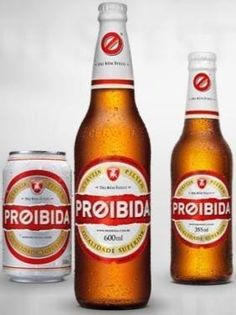 Proibida - Cerveja da Companhia Brasileira de Bebidas Premium