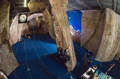 Adrenaline Climbing Gym in Suwanee Climbing Wall, Rock Climbing, Walls, Gym, Sports, Ideas, Hs Sports, Climbing, Excercise