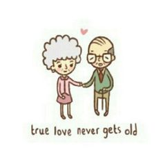 True love never gets old.